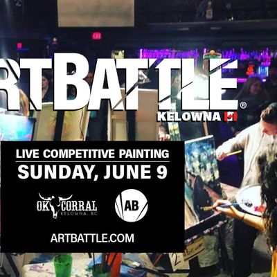 Art Battle Kelowna - June 9 2019
