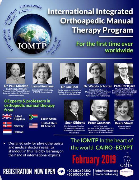 International Integrated Orthoapedic Manual Therapy Program