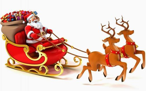 Santas Coming to Town- Hook End & Wyatts Green 11th Dec.
