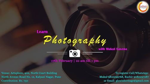 In Pune Photography Workshop