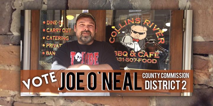 Vote Joe ONeal District 2 County Commissioner