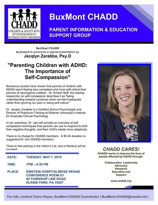 Parenting Children with ADHD: The Importance of Self-Compassion at