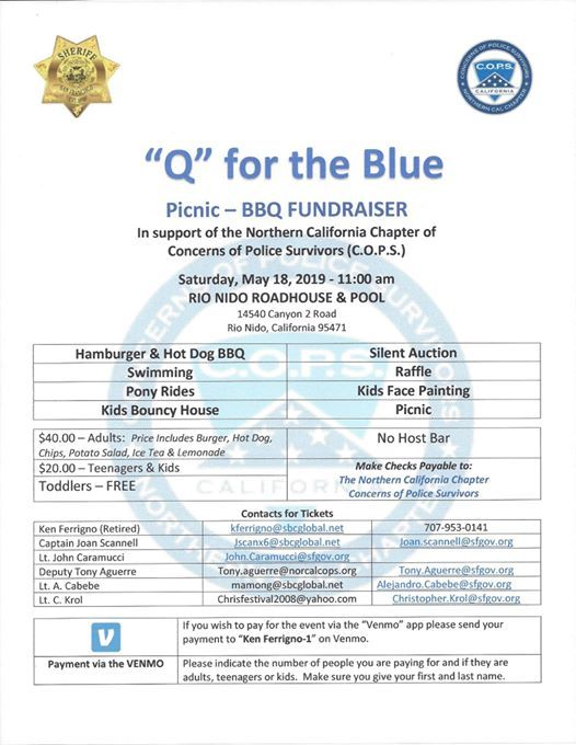 Q For The Blue! Support Concerns of Police Survivors at Rio