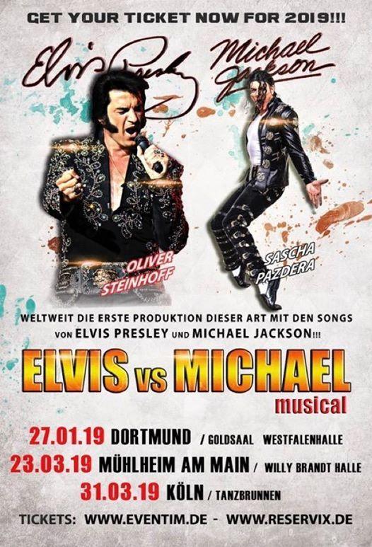 Elvis vs. Michael The King of RocknRoll vs. The King of Pop