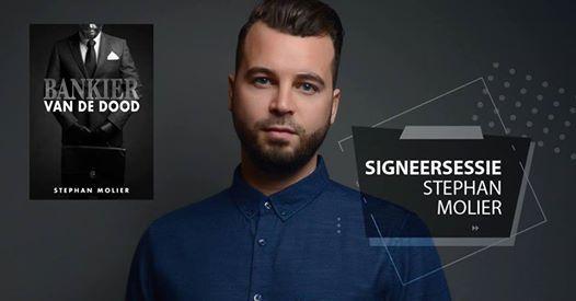 Signeersessie Stephan Molier