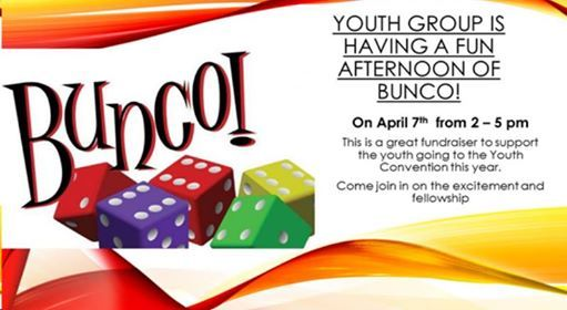 Bunco Fundraiser for youth
