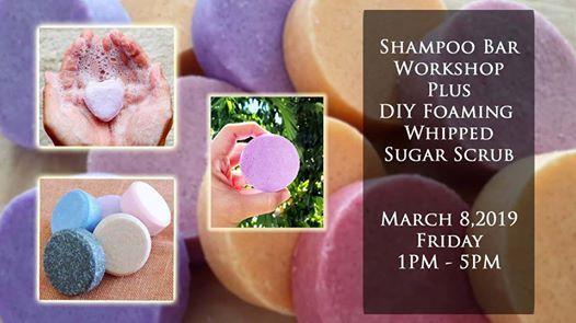 Shampoo Bar Making  DIY Foaming Whipped Scrub Workshop