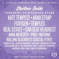 Tenement TV Discover Stage at Electric Fields