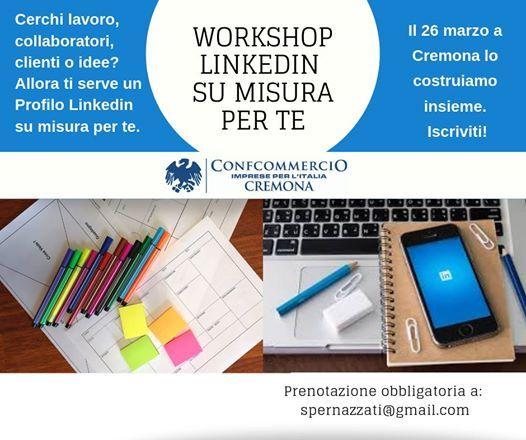 Workshop Profilo Linkedin su misura per te