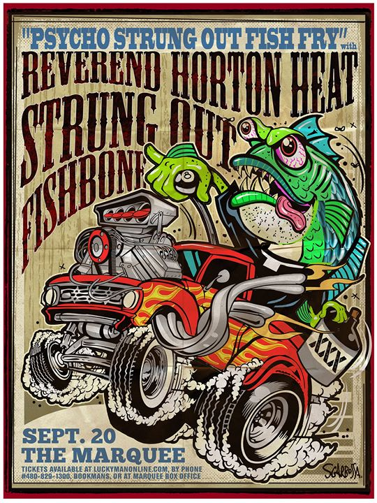 Reverend Horton Heat at The Marquee