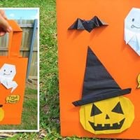 Halloween origami class