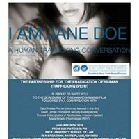 I am Jane Doe-A Human Trafficking Conversation