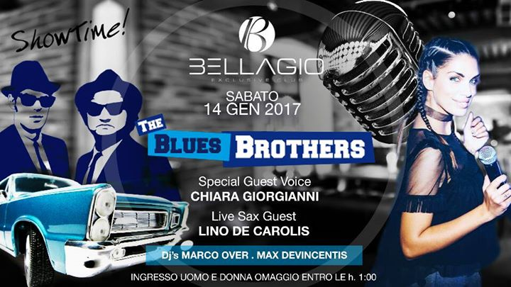 Show Time Presenta-Sab.1401 Bellagio The Blues Brothers