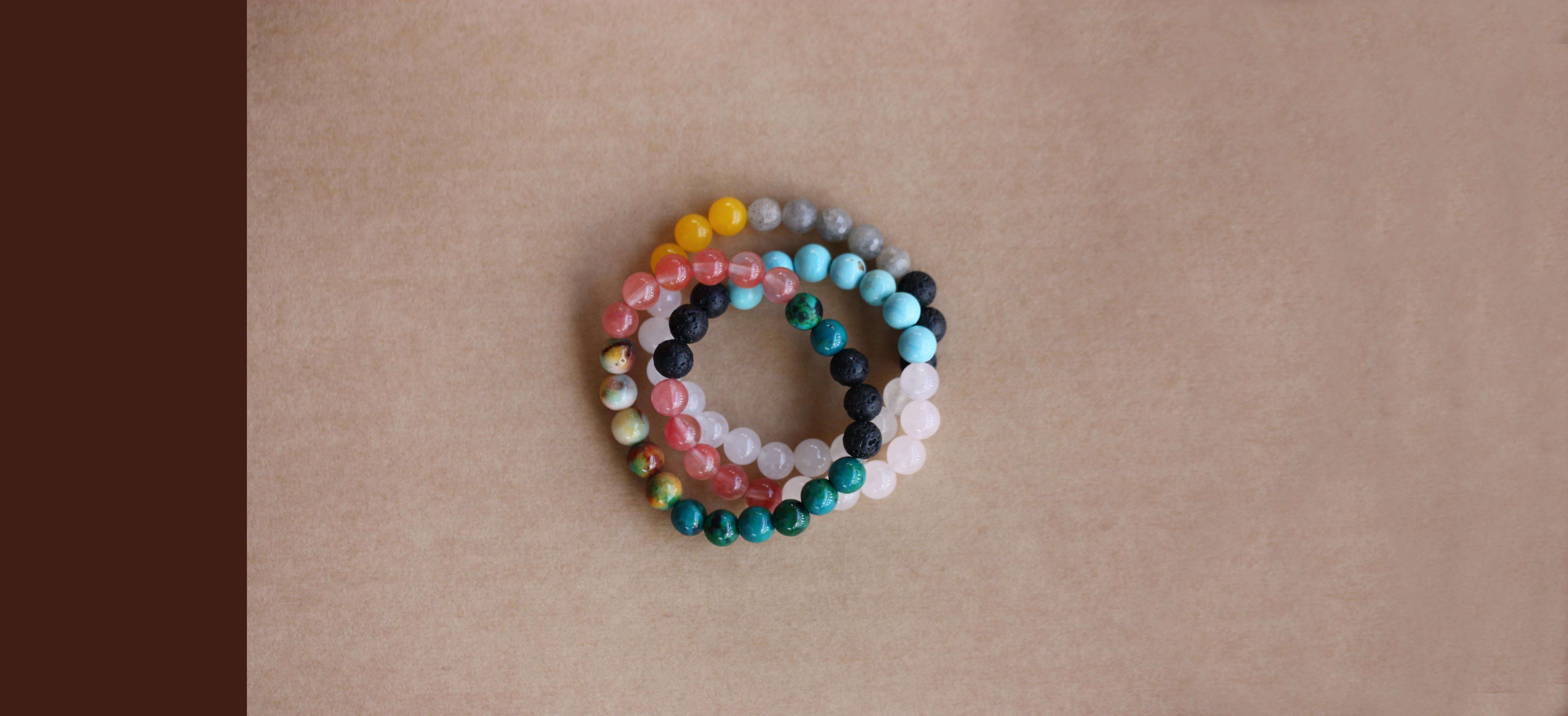 Gemstone Diffuser Bracelets & Essential Oils