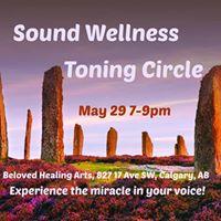 Sound Wellness May Toning Circle