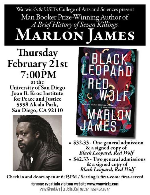 Marlon James - Black Leopard Red Wolf
