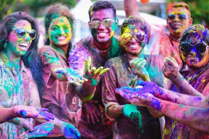 March 17th & 31st  Holi In The City - Festival Of Colors Brunch