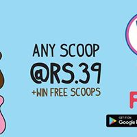 Baskin Robbins Rs.39- Brought to you by FIZZ