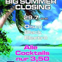 Big Summer Closing
