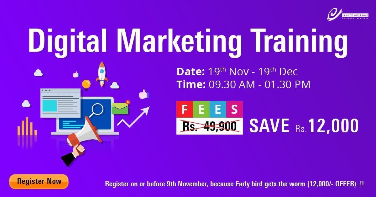Diploma in Digital Marketing Training