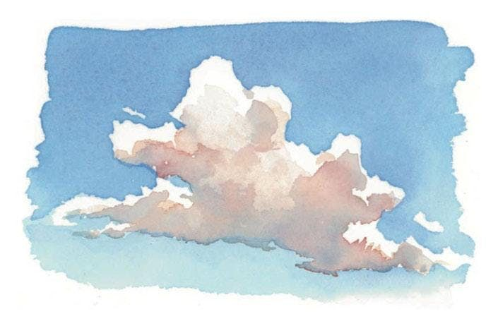Basic Landscape Techniques Skies in Watercolor with Kris Woodward