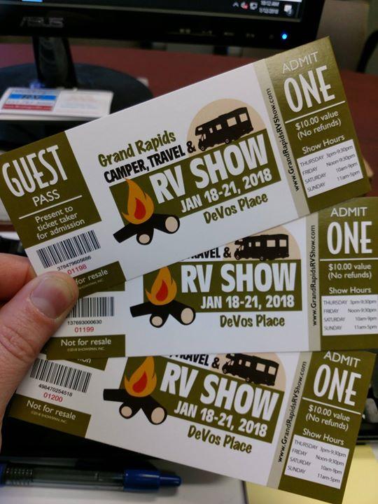 Grand Rapids RV and Camper Show