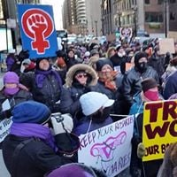 March for Abortion Rights - Counter Protest to March for Life IL
