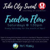Karma Saturdays Tribe City Sweat Series--April 29th