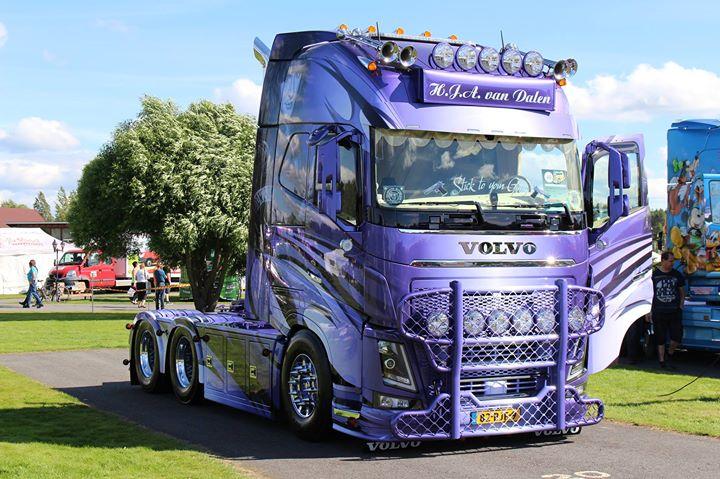Power Truck Show - Volvo Trucks at Powerpark, Alahärmä