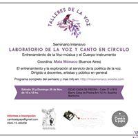 Seminario Laboratorio de la Voz y Canto en Crculo - Bariloche