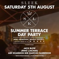 Summer Terrace Day Party - Saturday 5th August