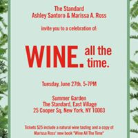 Wine. all the time. Book Launch &amp Wine Tasting