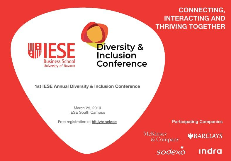 1st IESE Diversity and Inclusion Conference