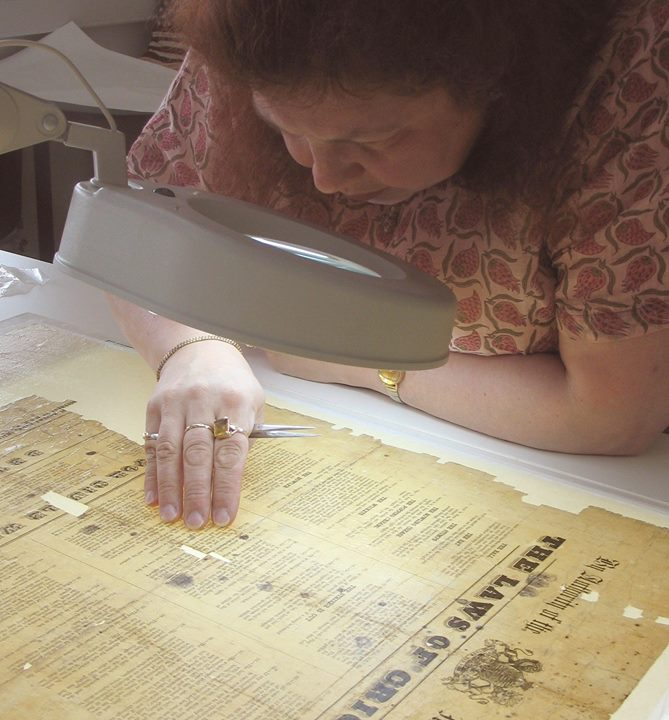 Talk Paper Conservation