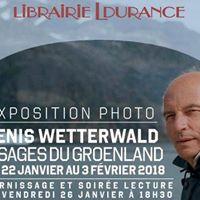 Visages du Groenland vernissage et soire lecture