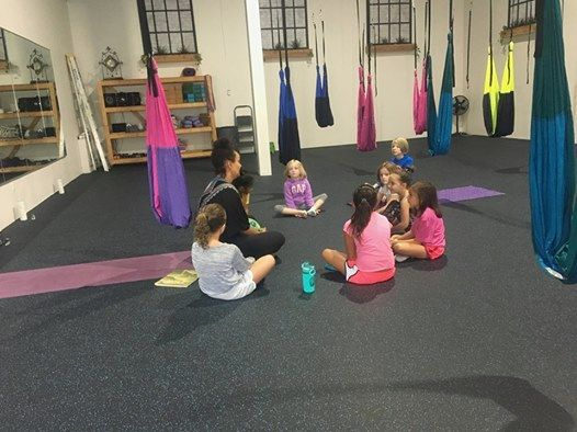 Kids (ages 5-8) Aerial Yoga 5 Week Series