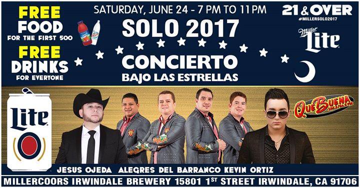 MillerSolo2017- Concierto Bajo Las Estrellas