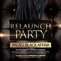 REHAB Relaunch Party (An All Black Affair)