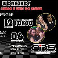 Workshop com Erika Ikuno E Guri Do Samba