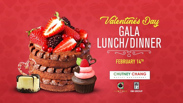 Valentines day Gala LunchDinner