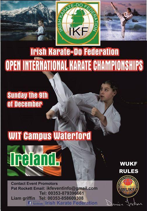 2018 Irish Karate-Do Federation Open International Karate Champi