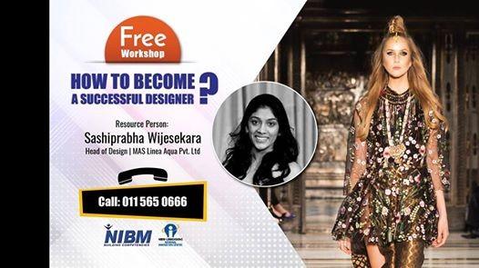 Fashion Design Workshop Session 2 At Nibm Colombo