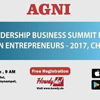AGNI Leadership Business Summit for Women Entrepreneurs Chennai
