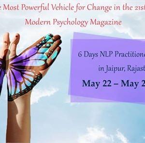 6 Days NLP Practitioner in Jaipur Rajasthan India