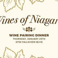 Wines of Niagara - Wine Pairing Dinner