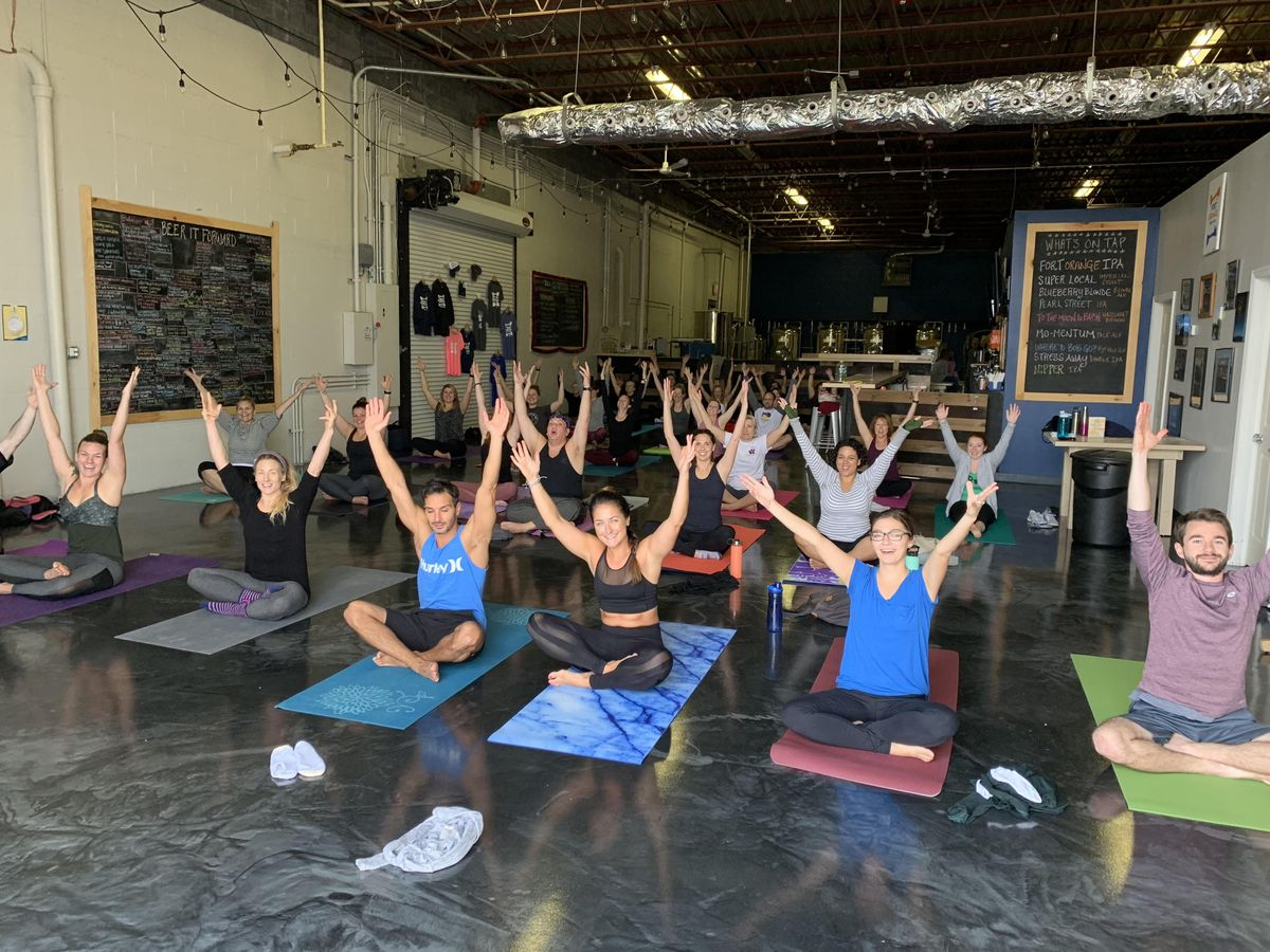 Sunday Yoga at Fort Orange Brewing- March 24