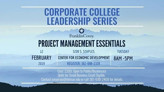 Corporate College Leadership Series - Project Management