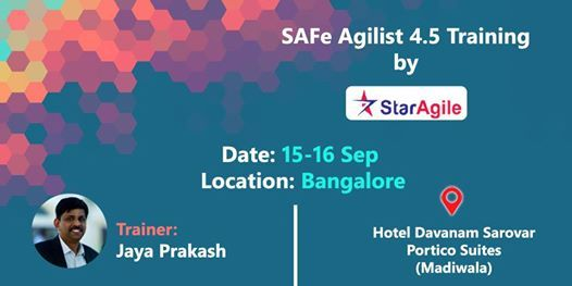 SAFe Agilist 4.5 Training