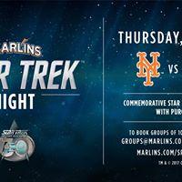 Star Trek Night at Marlins Stadium