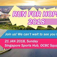 Run for Hope 21 Jan 2018 - 10km